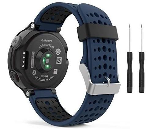 Imagen 1 de 8 de Moko Banda De Reloj Compatible Con Garmin Forerunner 235, Re