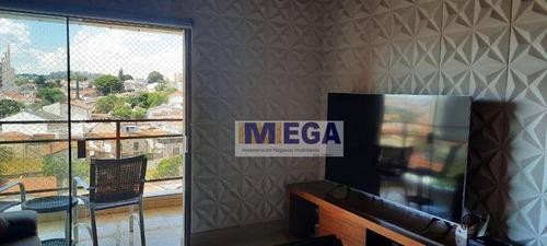 Imagem 1 de 16 de Apartamento Com 3 Dormitórios À Venda, 96 M² Por R$ 549.000 - Jardim Proença - Campinas/sp - Ap5078
