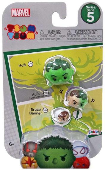 Tsum Tsum Serie 5 Marvel Hulk, Odín, Thor Avengers