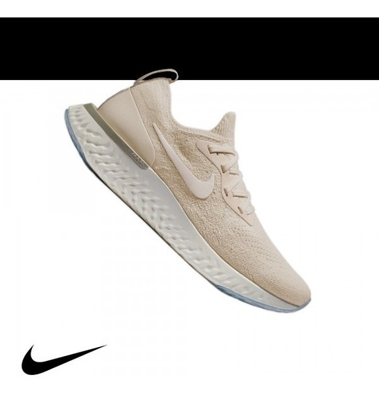 Nike Epic React Flyknit Light Cream