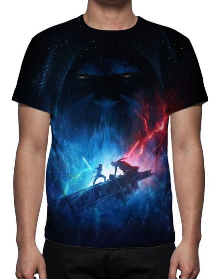 Camiseta Star Wars 9 - Ascensão Skywalker - Mod 01