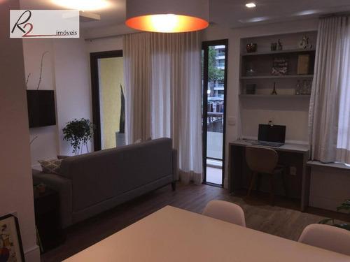 Apartamento A Venda E Locação, Cambuí, Campinas. - Ap0568