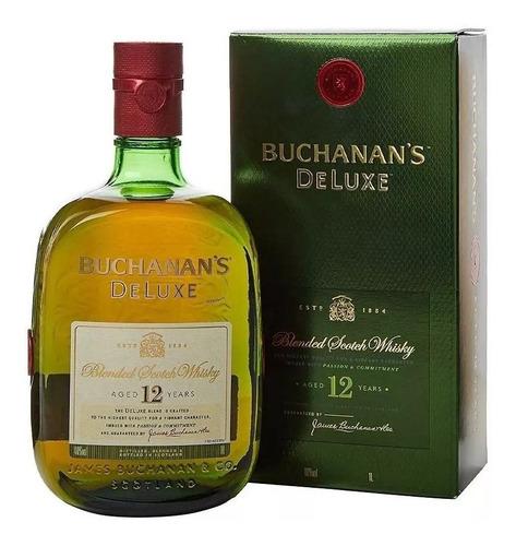 Whisky Buchanans 12 Años (1-litro) 100% Original