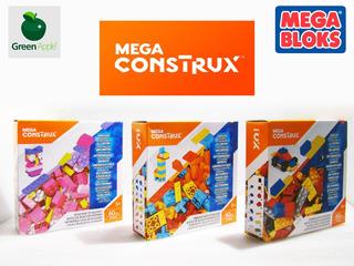 Mega Construx 60 Pcs Set X3 Cajas - Compatible Lego