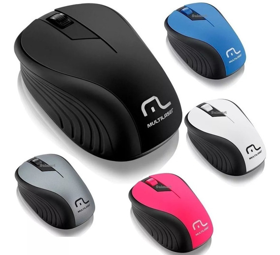 Mouse Multilaser Sem Fio 2.4ghz Usb Óptico