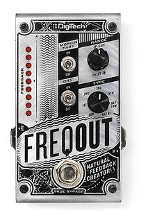 Digitech Freqout Regeneración Natural Creador Guitarra Efect