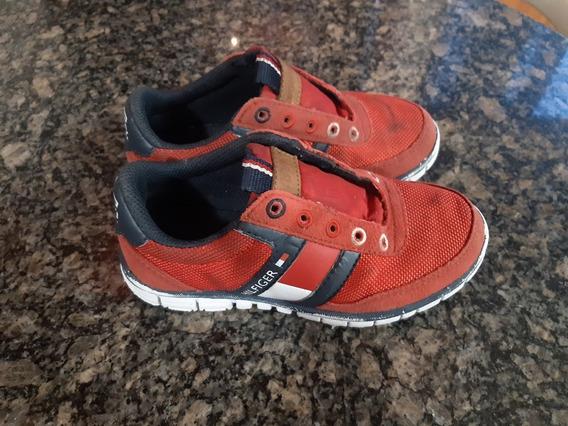 Zapatos Deportivos Para Niño Marca Tommy Hilfiger Talla 27