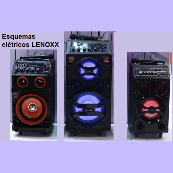 Esquema Elétrico Das Caixas Lenoxx