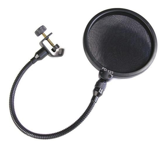 Filtro De Pop Para Microfone Anti Puff Audix Pd133