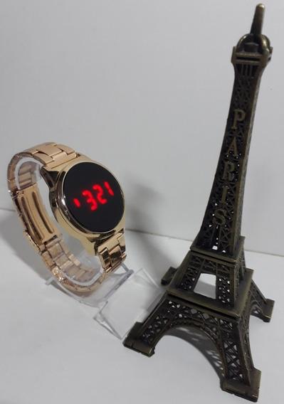 Lindo Relógio Digital Unissex Touch Screen Confira