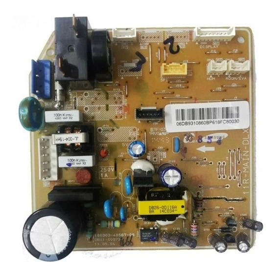 Placa Unidade Evaporadora Ar Split Samsung As24uwbu/ 10860b