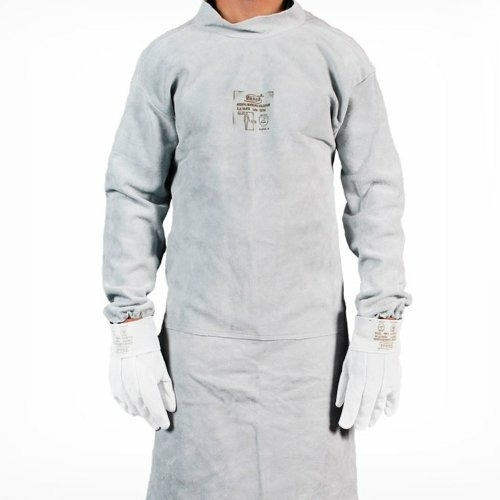 Avental Raspa Blusão Tipo Barbeiro Soldador 1linha Ca Protec