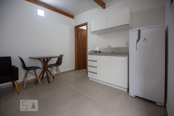 Studio Térreo Mobiliado Com 1 Dormitório - Id: 892965851 - 265851