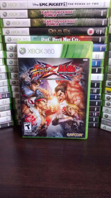Street Fighter Vs Tekken Xbox 360 Original Frete R$ 12