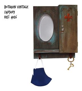 Botiquín Para Kit De Bioseguridad Vintage