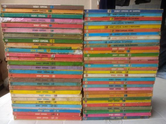 Disney Especial - Lote Com 59 Edições - Editora Abril