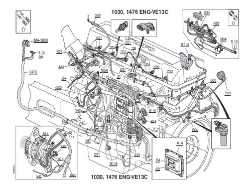 D16 Engine Diagram - Alternator Wiring Diagram 1981 Ford Lnt8000 for Wiring  Diagram Schematics | Volvo D16 Engine Oil Diagram |  | Wiring Diagram Schematics