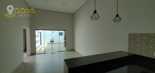 Imagem 1 de 17 de Casa Em Fase Final De Construção No Condomínio Village Moutonneé, Em Salto/sp. - Ca1568