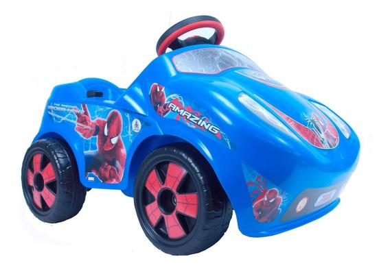 Coche Fire Spiderman 6v Injusa