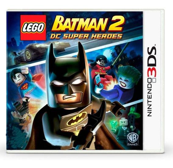 Lego Batman 2 Dc Super Heroes 3ds Mídia Física
