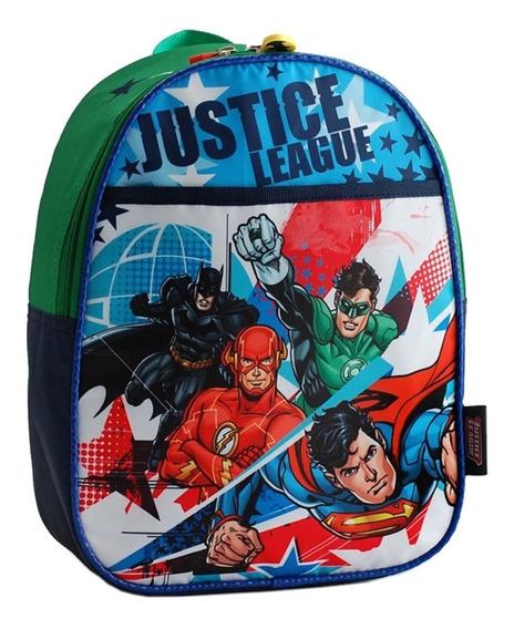 Mochila Espalda Jardin 13p Liga Batman Superman Mundo Manias