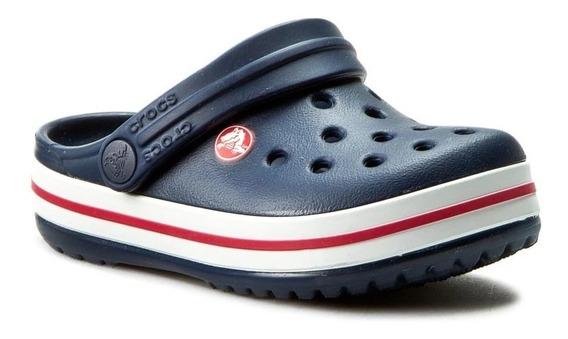 Crocs Originales Crocband Kids Niño Niña Azul Marino Cr1099