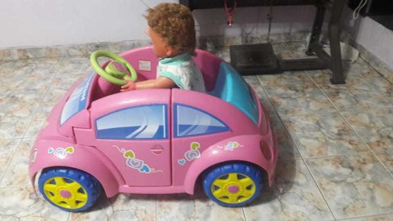 Carro Eléctrico Para Niña Volswage