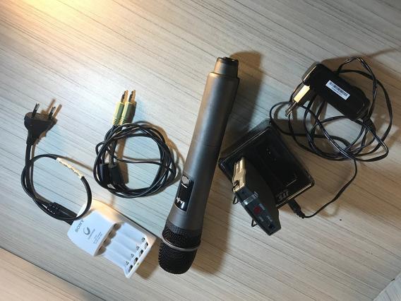 Microfone Para Câmera De Vídeo - Sem Fio Ka8th - Jts - Usado