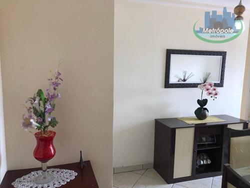 Apartamento Com 2 Dormitórios À Venda, 50 M² Por R$ 210.000,00 - Jardim Capri - Guarulhos/sp - Ap1138