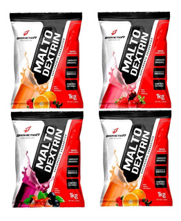 4x Maltodextrina - 1kg - Body Action