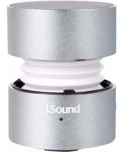 Caixa De Som Isound Fire Waves Bluetooth - Prata