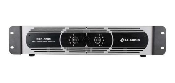 Amplificador De Potência Ll Audio Pro 1200 300 Watts 4 Ohms