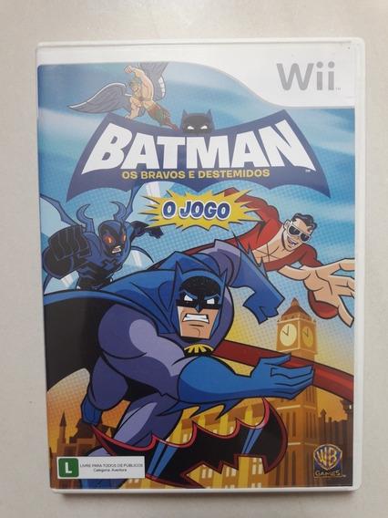 Batman - Os Bravos E Destemidos O Jogo Wii