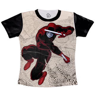 Camiseta Daredevil Demolidor Marvel Hq