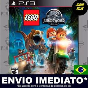 Lego Jurassic World Ps3 Mídia Digital Psn Envio Imediato