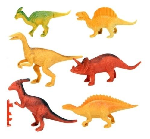 Kit 6 Dinossauros Brinquedos Promoção