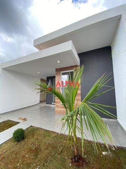 Casa De 03 Quartos No Bairro Marques Industrial Em São Joaquim De Bicas. - 7869