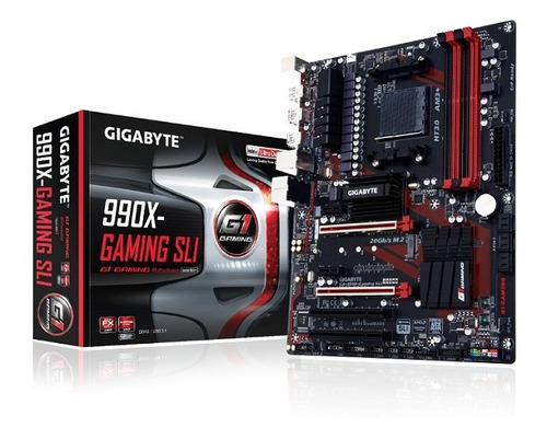 Motherboard Amd Gigabyte Ga-990x-gaming Sli Am3+, Ddr3 Usb 3