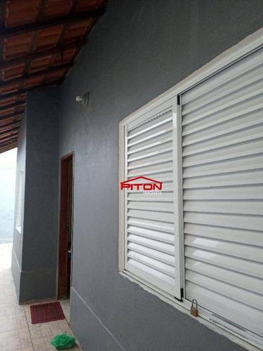 Sobrado Com 2 Dormitórios À Venda, 54 M² Por R$ 200.000,00 - Flórida Mirim - Mongaguá/sp - So2763