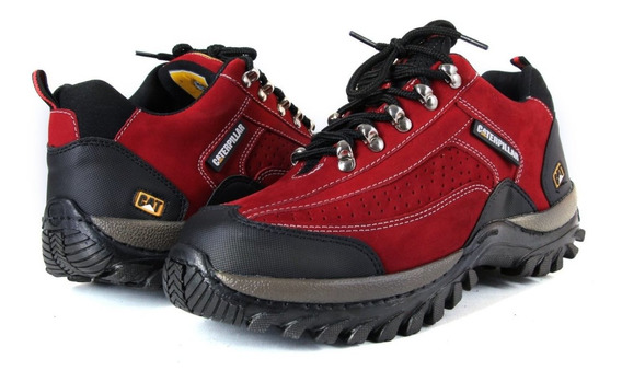 Coturno Bota Tenis Caterpillar Adventure Original E Kit Cat
