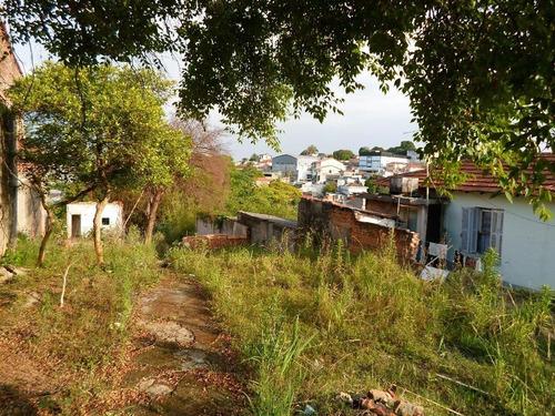 Terreno Residencial À Venda, Vila Palmeiras, São Paulo. - Te0205