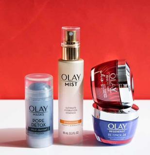 Olay Gift Set Holiday Ready Retinol, Regenerist, Face Mist