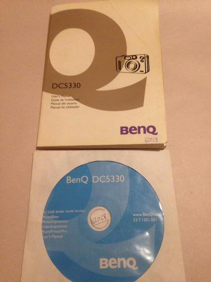 Manual Y Cd De Cámara Digital Benq Dc5330