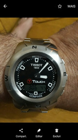 Relogio Tissot Touch Novo Completo