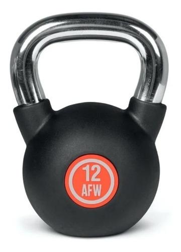 Imagen 1 de 3 de Mancuerna Pesa Rusa Kettlebell Hierro 12kg Crossfit Gym