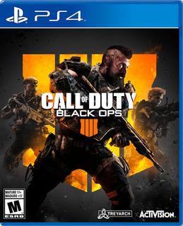 Call Of Duty Black Ops 4 Ps4 Nuevo Sellado