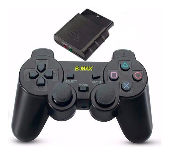 Controle Joystick Sem Fio Wireless Playstation 2 Ps2 Até 8m
