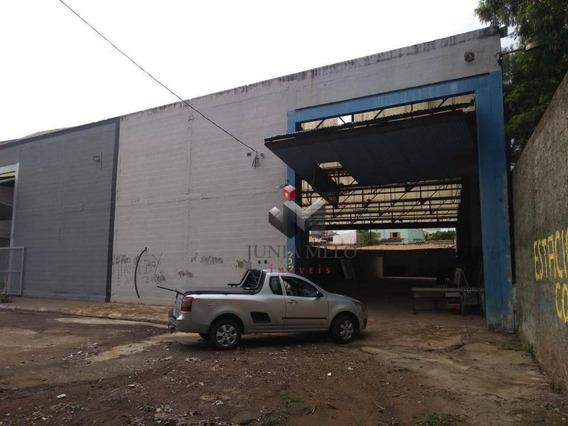 Galpão Para Alugar, 460 M² Por R$ 3.000/mês - Campos Elíseos - Ribeirão Preto/sp - Ga0012