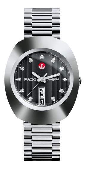 Reloj Rado The Original R12408613 Diastar Plateado-negro