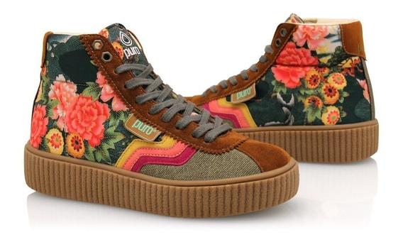Zapatillas Puro Chicha Kobe Telas Reforzadas Diseño